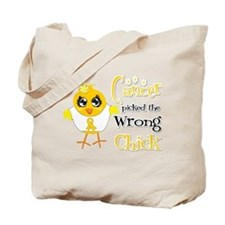 Neuroblastoma Picked The Wrong Chick Tote Bag