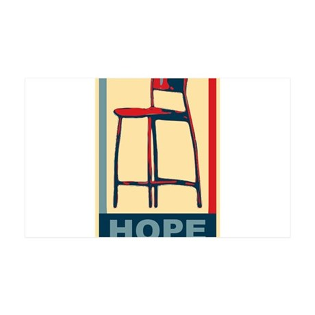 Invisible Obama Hope 35x21 Wall Decal