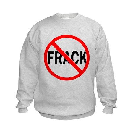 No Fracking Kids Sweatshirt