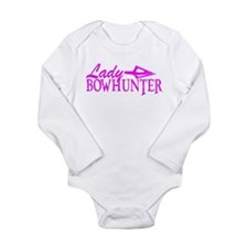 LADY BOWHUNTER Long Sleeve Infant Bodysuit