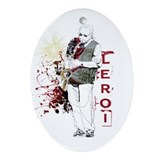 LeRoi Ornament (Oval)