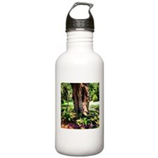 Southern Oak with flora Sports Water Bottle