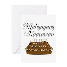 Happy Birthday (Tagalog) Greeting Card