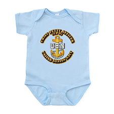 Navy - CPO - CPO Infant Bodysuit