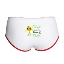 Lymphoma Picked The Wrong Chick Women's Boy Brief