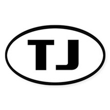 Oval Decals Oval Decal