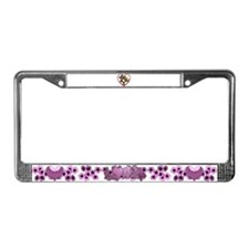 I hart teddy bears License Plate Frame