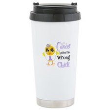 General Cancer Picked The Wrong Chick Ceramic Trav