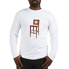 Anti Obama Empty Chair Long Sleeve T-Shirt