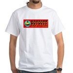 Boycott Made In China K9 Kill White T-Shirt