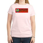 Boycott Made In China K9 Kill Women's Pink T-Shirt