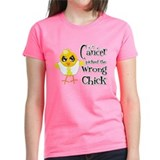 Ewings Sarcoma Picked The Wrong Chick Tee