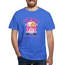 Fire Truck 6th Birthday Girl T-Shirt