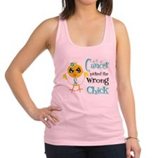 Cervical Cancer Picked The Wrong Chick Racerback T