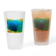 Morning Glory Pool 1965 Drinking Glass