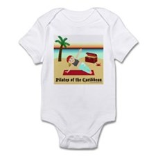 Pilates of the Caribbean Infant Bodysuit