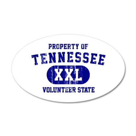 Property of Tennessee, Volunteer State 20x12 Oval