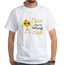 Appendix Cancer Picked The Wrong Chick Shirt