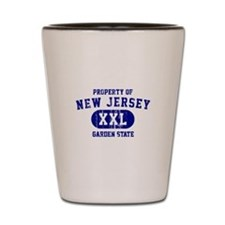 Property of New Jersey the Garden State Shot Glass