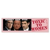 Anti Akin bumper sticker Legitimate Rape