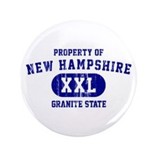 "Property of New Hampshire the Granite State 3.5"" B"