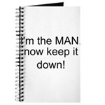 the man keep it down Journal