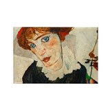 Schiele - Wally Neuzil Rectangle Magnet