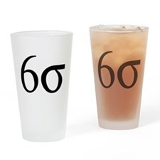 Six Sigma Drinking Glass