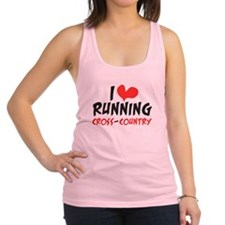 I heart (love) running CC Racerback Tank Top