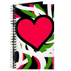 Big Pink Heart Pregnancy Journal