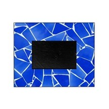 Blue Mosaic Tile Picture Frame