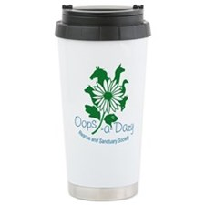 Oops-a-Dazy Logo Stainless Steel Travel Mug