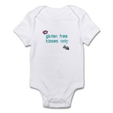 Gluten Free Kisses Only Infant Bodysuit