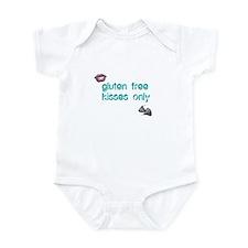Gluten Free Kisses Only Infant Bodysuit