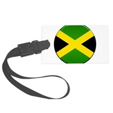 Jamaican Button Luggage Tag