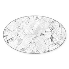 Plant Oval Decal
