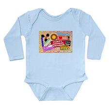live your dreams Long Sleeve Infant Bodysuit