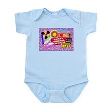 live your dreams Infant Bodysuit