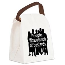 people.jpg Canvas Lunch Bag