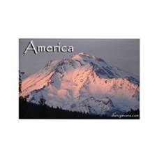 America Pride Rectangle Magnet (100 pack)