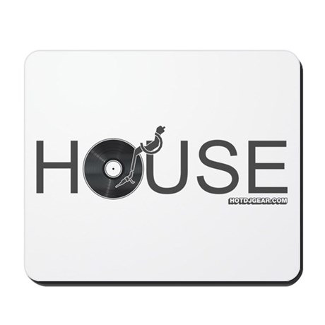 House Vinyl Mousepad