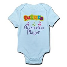Future Accordion Player Infant Bodysuit