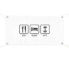 Eat Sleep Lift Banner