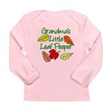 Grandmas Little Leaf Peeper Long Sleeve Infant T-S