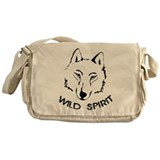 wolf wild spirit pack Messenger Bag