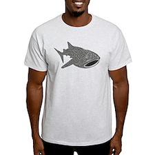 whale shark diver diving scuba T-Shirt