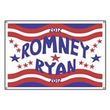 Starry 2012 Romney Ryan Banner