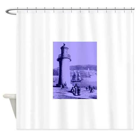 Lighthouse Shower Curtain By Cool4less