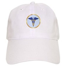Nursing Caduceus Baseball Cap
