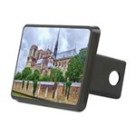 paris notra dam B.jpg Rectangular Hitch Cover
